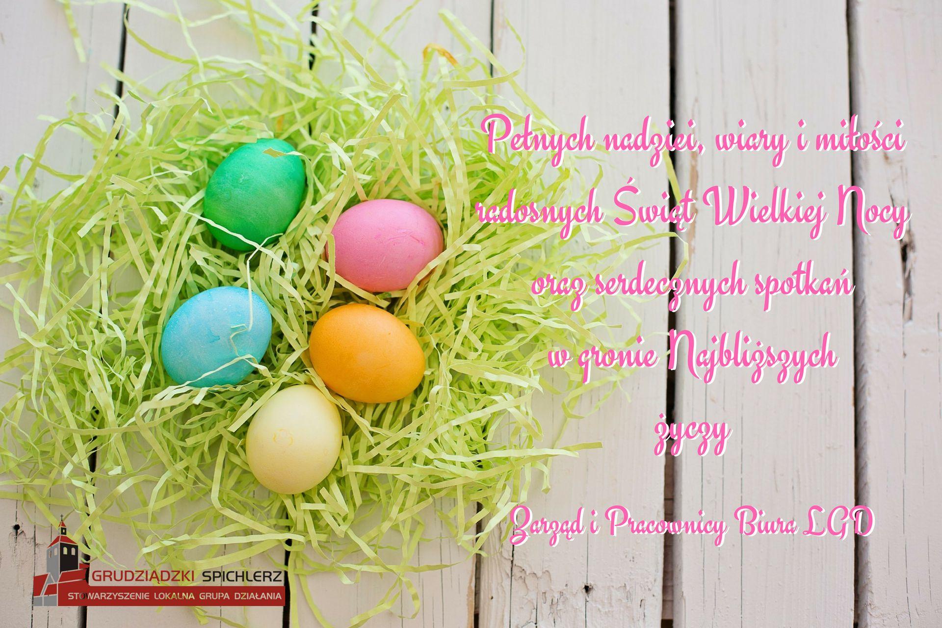 Życzenia Wielkanoc 2018 LGD